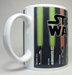 Star Wars Mug with lightsaber museum with color-change feature - 9267-9225CCCGTH
