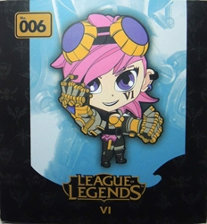 League of Legends 3.5 inch figure - VI China, League of Legends, Action Figures, 2014, anime, video game