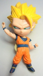 Dragon Ball Goku 5 inch Figure with keychain atop head China, Dragon Ball Z, Keychains, 2016|Color~orange|Color~yellow, educational