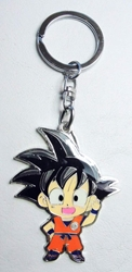 Dragon Ball Goku 2.2 inch alloy keychain China, Dragon Ball Z, Keychains, 2016|Color~orange|Color~black, educational