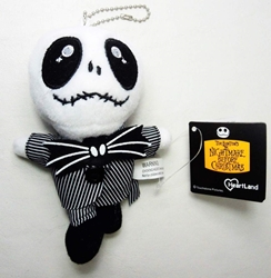 Nightmare Before Christmas 5 inch Plush Jack in pinstripe suit China, Nightmare Before Christmas, Plush, 2016, halloween, movie