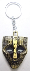 The Mask of Loki metal alloy keychain (brass finish) China, The Mask, Keychains, 2016|Color~brass, animated, tv show