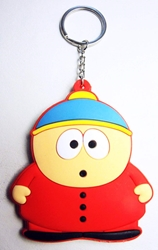 South Park 3 inch soft plastic keychain - Eric Cartman China, South Park, Keychains, 2016|Color~red|Color~blue|Color~fleshtone, comedy, cartoon