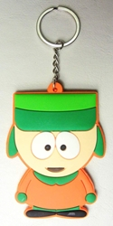 South Park 3 inch soft plastic keychain - Kenny McCormick China, South Park, Keychains, 2016|Color~ornage|Color~green|Color~fleshtone, comedy, cartoon