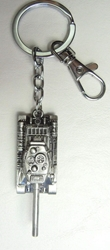 Ant-Man World War II Russian T34 military Tank alloy keychain