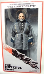 NECA The Hateful Eight 8 inch clothed figure - The Confederate General Sandy Smithers