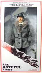 NECA The Hateful Eight 8 inch clothed figure - The Little Man Oswaldo Mobray