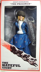 NECA The Hateful Eight 8 inch clothed figure - The Prisoner Daisy Domergue