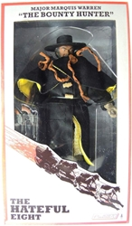 NECA The Hateful Eight 8 inch clothed figure - The Bounty Hunter Major Marquis Warren