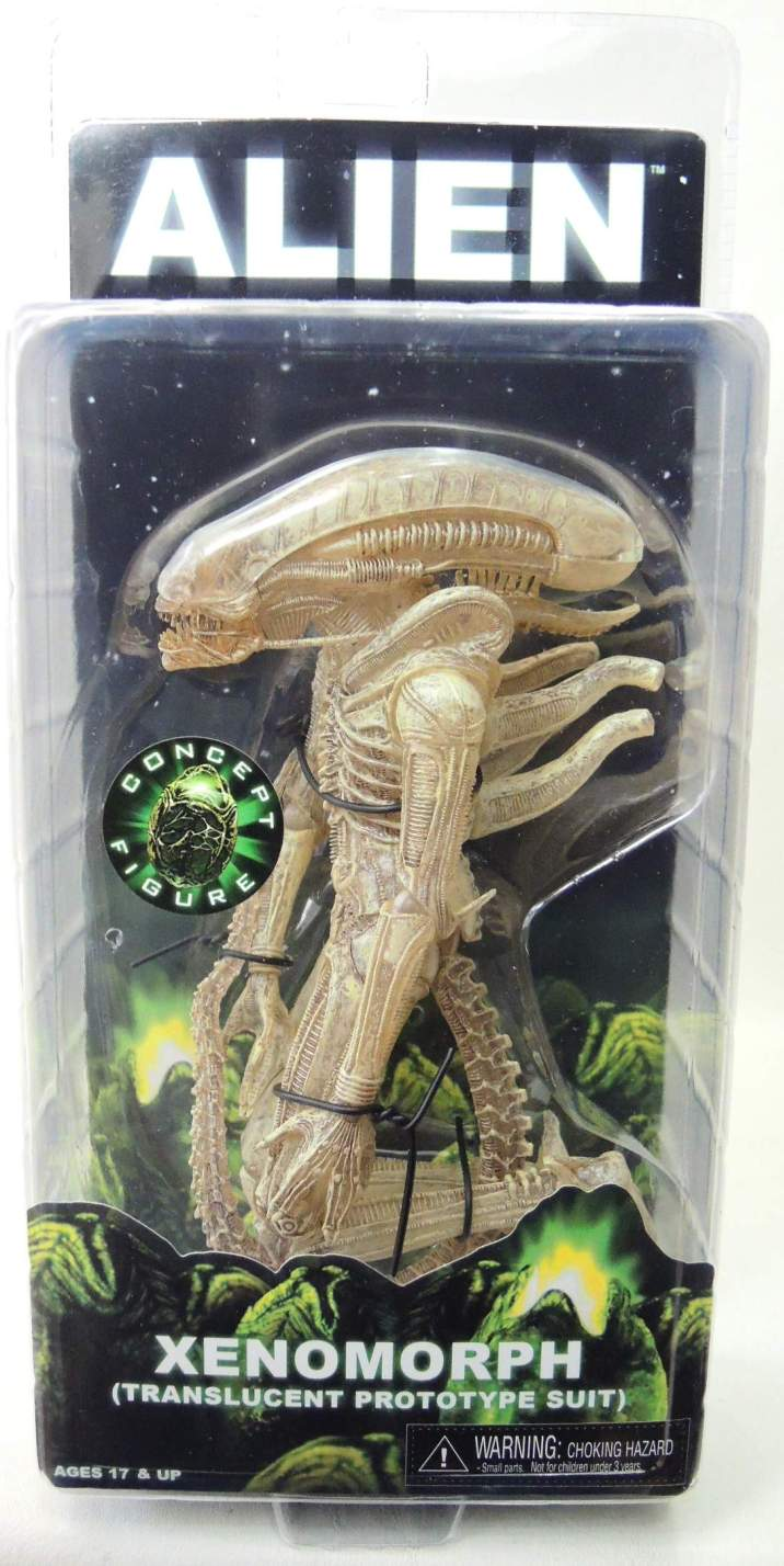 NECA Aliens Series 7 Figure - Xenomorph (Translucent Prototype Suit)