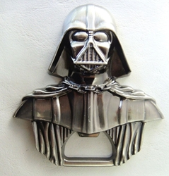 Star Wars Darth Vader Bust Bottle Opener (pewter finish) China, Star Wars, Home-barware, 2016|Color~pewter, scifi, movie