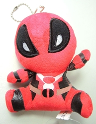Deadpool cute 4 inch plush China, Deadpool, Plush, 2016, comedy, movie