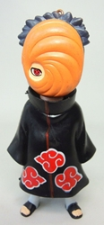 Naruto 4 inch Figure with keychain atop head - Tobi China, Naruto, Keychains, 2016|Color~black|Color~red|Color~orange|Color~fleshtone, educational