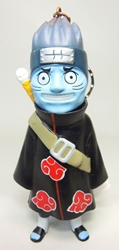 Naruto 4 inch Figure with keychain atop head - Kisame Hoshigaki China, Naruto, Keychains, 2016|Color~black|Color~red|Color~orange|Color~blue, educational