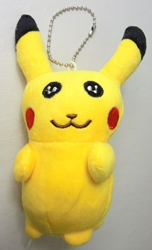 Pokemon 5 inch plush - Pikachu China, Pokemon, Plush, 2016|Color~yellow, animated, game
