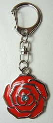 Rozen Maiden Alloy Keychain - Rosa Mystica China, Rozen Maiden, Keychains, 2016|Color~red, anime