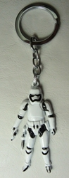 Star Wars Stormtrooper 2.5 inch alloy keychain China, Star Wars, Keychains, 2016|Color~white, scifi, movie