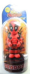 NECA Marvel Solar-Powered Body Knocker - Deadpool