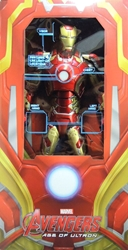NECA Avengers 1/4 scale Iron Man Nark 43 Figure with light-up LEDs