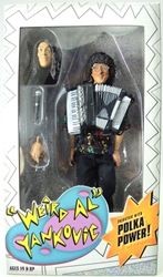 NECA Weird Al Yankovic 8 inch figure with cloth outfit