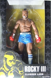 NECA Rocky 40th Anniversary Series 1 figure - Clubber Lang (blue trunks)