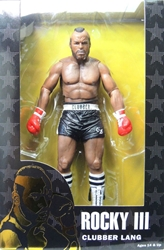 NECA Rocky 40th Anniversary Series 1 figure - Clubber Lang (black trunks)