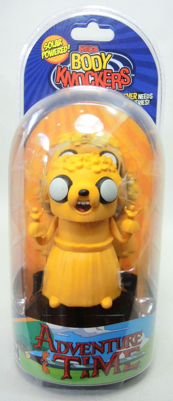 NECA Adventure in Time Solar-Powered Body Knocker - Jake NECA, Adventure Time, Bobble-Heads, 2016, adventure, cartoon