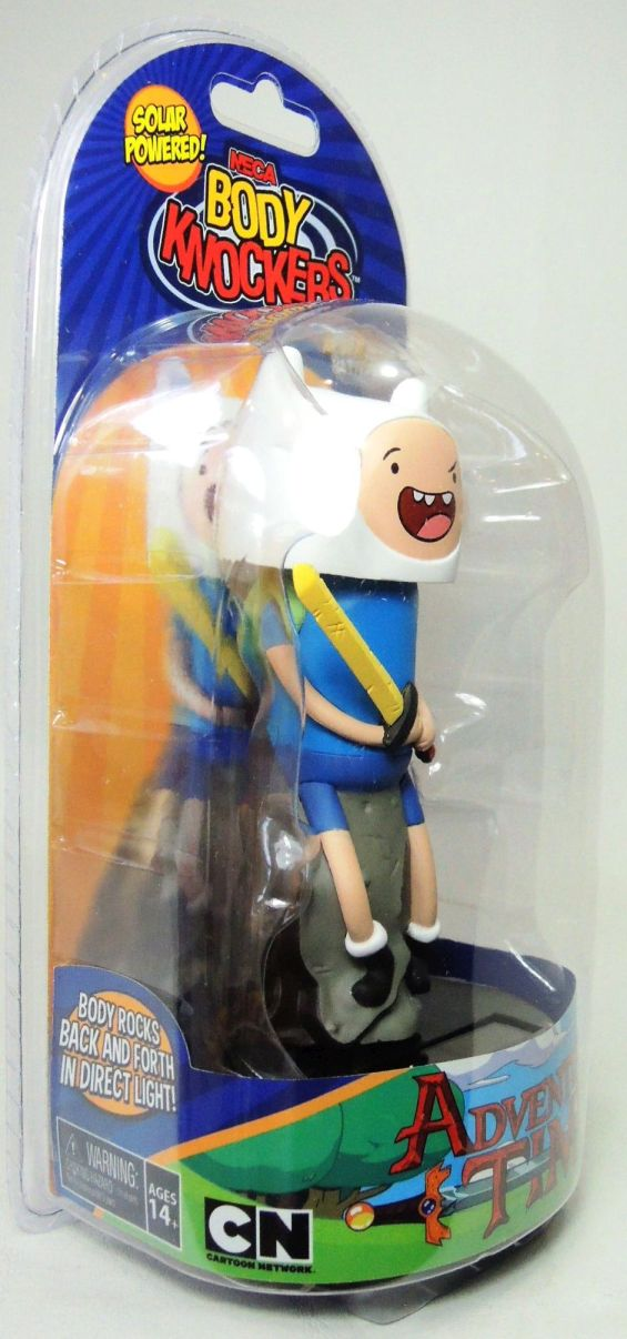NECA Adventure in Time Solar-Powered Body Knocker - Finn - 9546-9502CCCUAF
