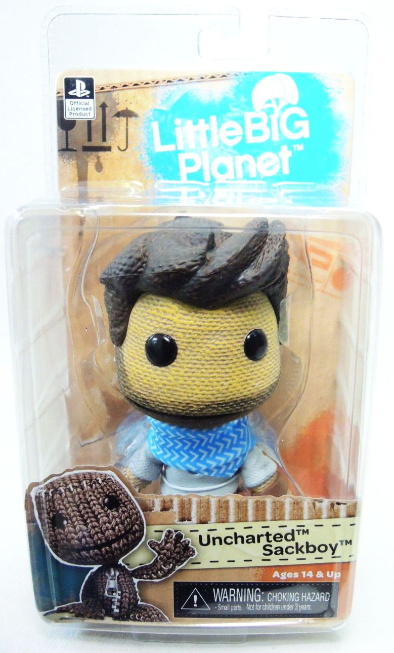 NECA Little Big Planet 5 inch Series 2 figure - Uncharted Sackboy