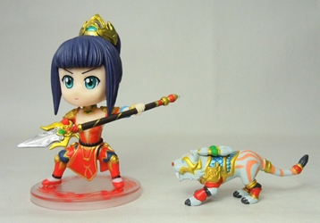 League of Legends 3 inch Figure - Nidalee China, League of Legends, Action Figures, 2016, anime, video game