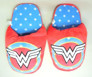 Wonder Woman red padded slippers China, Wonder Woman, Cosplay, 2016|Color~red|Color~blue, superhero, comic book