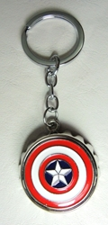 Captain America alloy keychain - Bottle opener cap China, Captain America, Keychains, 2016|Color~blue|Color~red|Color~white, superhero, movie