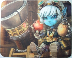 League of Legends Mouse Pad - Tristana offering food & drink China, League of Legends, Mouse Pads, 2016, anime, video game