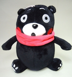 Kumamon cute 8 inch plush - :O expression China, Kumamon, Plush, 2016, cute animals