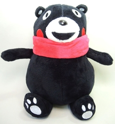 Kumamon cute 8 inch plush - smiling China, Kumamon, Plush, 2016, cute animals