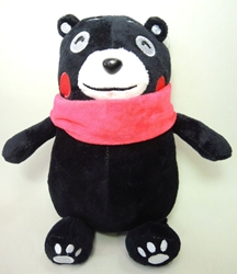 Kumamon cute 8 inch plush - dreaming China, Kumamon, Plush, 2016, cute animals