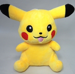 Pokemon cute 7 inch plush Pikachu - smiling China, Pokemon, Plush, 2016, animated, game