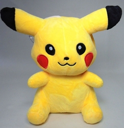 Pokemon cute 7 inch plush Pikachu - thinking China, Pokemon, Plush, 2016, animated, game