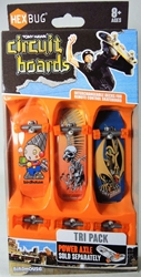 Hex Bug Tony Hawk Circuit Boards - Tri Pack (wind-up robot) Innovation First, Hex Bug, Tech Deck, 2015, robots