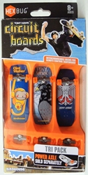 Hex Bug Tony Hawk Circuit Boards - Tri Pack (monkey) Innovation First, Hex Bug, Tech Deck, 2015, robots