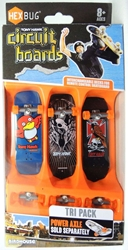 Hex Bug Tony Hawk Circuit Boards - Tri Pack (red bird) Innovation First, Hex Bug, Tech Deck, 2015, robots