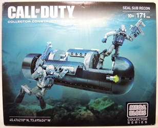 Mega Bloks Call of Duty Seal Sub Recon Mega Bloks, Call of Duty, Legos & Mega Bloks, 2015, military, video game