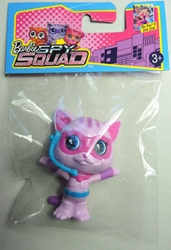 Barbie Spy Squad - 2.5 inch Techbot - Pink Cat