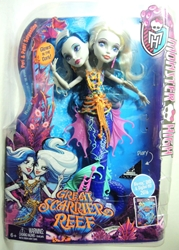 Monster High Great Scarrier Reef - Peri & Pearl Serpentine Mattel, Monster High, Dolls, 2015, teen, fashion, movie