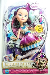 Ever After High Way Too Wonderland Doll - Madeline Hatter 17 inch Mattel, Ever After High, Dolls, 2014, fantasy