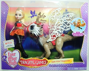 Ever After High Dragon Games - Apple White Dragonrider Mattel, Ever After High, Dolls, 2015, fantasy