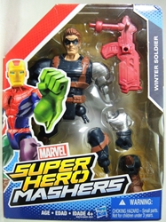 Marvel Super Hero Mashers 6 inch Figure - Winter Soldier Hasbro, Marvel, Action Figures, 2015, superhero, comic book
