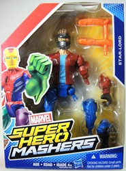 Marvel Super Hero Mashers 6 inch Figure - Star-Lord Hasbro, Marvel, Action Figures, 2015, superhero, comic book