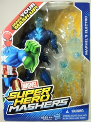 Marvel Super Hero Mashers 6 inch Figure - Electro Hasbro, Marvel, Action Figures, 2015, superhero, comic book