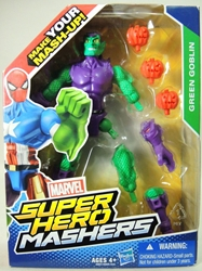 Marvel Super Hero Mashers 6 inch Figure - Green Goblin Hasbro, Marvel, Action Figures, 2015, superhero, comic book